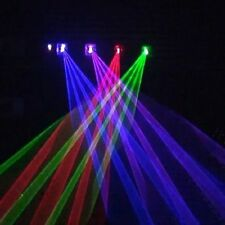 960mW 4 Lens RGBP Laser Stage Lighting Smas Home Party DJ KTV Show Projector