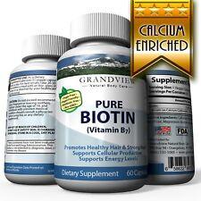 Biotin Pure. 10000 mcg, 60 servings