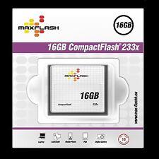 Speicherkarte Maxflash 16 GB CF Compact Flash 233x Geschwindigkeit Highspeed