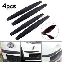 4pcs Carbon Universal Auto Stoßstange Ecke Streifen Anti-Rub Kratzschutz