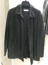 Giorgio Armani Le Collezioni Size 40 Men's Goat 🐐  Skin Leather Jacket Coat 🧥