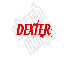 Dexter Vinyle Sticker Autocollant Logo DVD TV Neuf Ordinateur Portable iPad voiture (fenêtre facultatif)