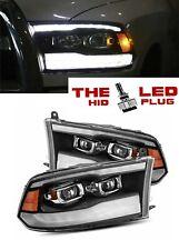 09-18 Ram 1500/2500/3500 G3 Model dual Projector PRO SERIES Headlights Black