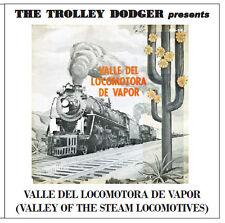 Vintage Mexico Steam RR Hi-Fi Audio on CD - Valle del Locomotora de Vapor c1964