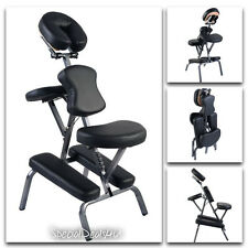 Portable Massage Chair Tattoo Table Exam Salon Facial Bed Spa Case Fold Pad New