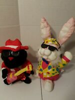 Gorilla, Bunny & Halloween Count Animated and Singing Rock & Rap Songs, Lot of 3