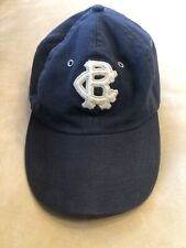 Vintage Navy Brooklyn Royal Giants '17 Negro Leagues Baseball Cap By Blue Marlin