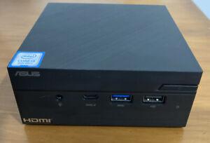 Asus MiniPC PN60 - Intel Core i3 8th Gen - 8GB RAM - 240GB SSD - Windows 10 Pro