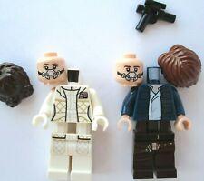 NEW LEGO MILLENNIUM FALCON 75192 LEIA & HAN minifigure (Star Wars Hoth Bespin)j