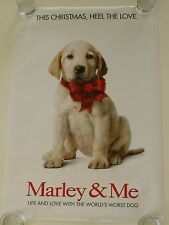 MARLEY AND ME 27X40 DS MOVIE POSTER ONE SHEET NEW AUTHENTIC