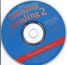 Reader Rabbit Reading 2 PC MAC CD (Spelling Phonics fun Math, Age 5-8 Grade 1-2)