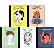 Little People, Big Dreams Series 3 Collection 5 Books Set Georgia O'Keeffe NEW