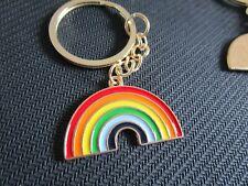 enamel rainbow keyring ; donation to NHS