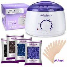 Wax Electric Heater Warmer Hair Removal Kit Waxing Pot Machine Beans