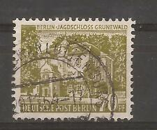 Berlin 1954 Berlin Buildings 70 Pf fine used, Michel 123.