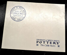 UNIVERSITY OF NORTH DAKOTA POTTERY The Cable Years Illustrated w/ Price Guide