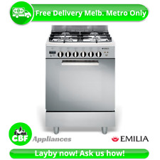 Emilia - 60cm Freestanding Gas Cooker Stainless Steel DI664MVIB4