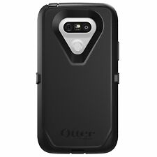 Genuine Otterbox Defender Series Rugged Case For LG G5 With Clip Holster Black