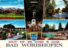 Bad Wörishofen  , Ansichtskarte , ungelaufen