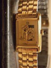 Womens Vintage Lorus Disney Minnie Mouse Watch (Goldtone Bracelet)-(Rare)VHF-New