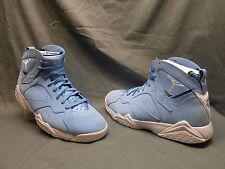 Nike Air Jordan 7 Retro Basketball Sneakers Blue White Mens Size 9.5 FMWOB!