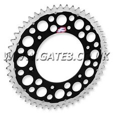 KAWASAKI KX250 KX 250 1982-2008 RENTHAL TWIN RING 50-TOOTH BLACK REAR SPROCKET