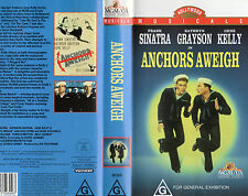 ANCHORS AWEIGH-Sinatra & Kelly- VHS-PAL-NEW & SEALED-Never played! - VER RARE!!