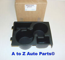 NEW 2008-2012 Chevrolet Malibu FRONT Console CUP HOLDER INSERT, OEM GM