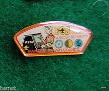 BOY SCOUT HAT PIN - 2005 FOS - HIAWATHA SEAWAY COUNCIL