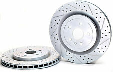 Baer Spor Rotors 55163-020 Rear 2010 - 2015 Camaro SS Slot, Drill, Zinc Rotors