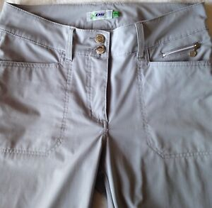 """Daily Sports XDS Women's Size US 4 Pearl Gray 29"""" Activewear Golf Outdoor Pants"""
