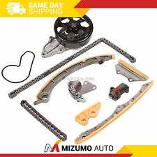 Timing Chain Kit Water Pump Fit 02-07 Acura TSX Honda CRV Element K24A2 K24A4
