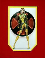 ROGUE X-Men PRINT PROFESSIONALLY MATTED Jamie Tyndall