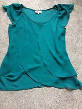LOVELY PER UNA BNWOT TEAL TOP SIZE 14