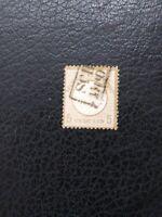 "Germany #6 Used,  1872 5gr ""Small Shield,"" Scott Catalog Value $ 85.00"
