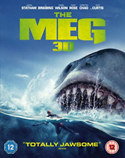 Meg (UK IMPORT) BLU-RAY NEW