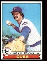 1979 Topps Dave Rader Chicago Cubs #693