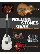 Rolling Stones Gear All The Stones' Instruments From Stage To Studio MUSIC BOOK