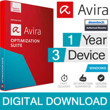 Avira Optimization Suite 2019 (3 User/1 Year) Antivirus Pro & System Speedup Pro