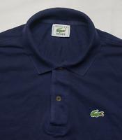 Lacoste Polo Shirt  Mens Size 5 L Large Pique Cotton Short Sleeve 90s Vintage