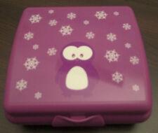 Tupperware A 126 Sandwichbox Pinguin Pausendose Brotdose Lila Violett Neu OVP