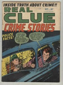 Real Clue Crime Stories Vol 5 #8 October 1950 G/VG