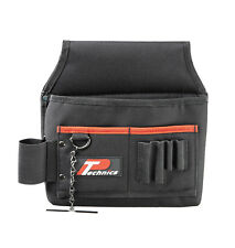 Technics Electricians Tool Pouch Pocket & PVC Tape Holder - Heavy Duty Quality