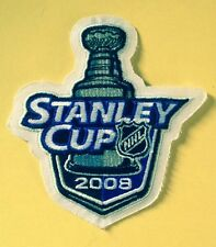 2008 STANLEY CUP OFFICIAL JERSEY PATCH RED WINGS PENGUINS