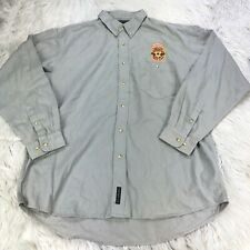 NWOT Camp David Men's XL Embroidered Newcastle Brown Ale Work Shirt Beer