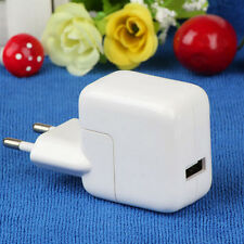 10W USB 1Port AC Wall Power Supply Charger Adapter For Apple iPad 1/2/3 EU Plug