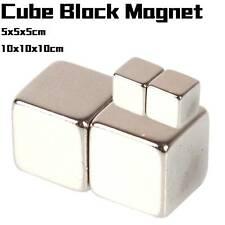 Lot Super Strong Block Cube Magnets 5x5x5mm 10x10x10mm Rare Earth Neodymium