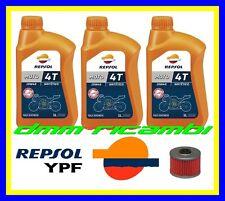 Kit Tagliando HONDA XL 600 85>87 LM-F LMF + Filtro Olio REPSOL MOTO 4T 10W/40