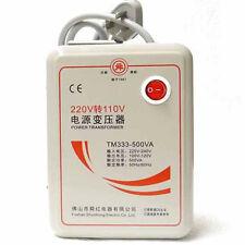 Transformer 220V to 110V 500W Step Down Voltage Converter AC Electrical Device
