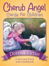 Cherub Angel Cards for Children: A 44-Card Deck and Guidebook by Doreen Virtue